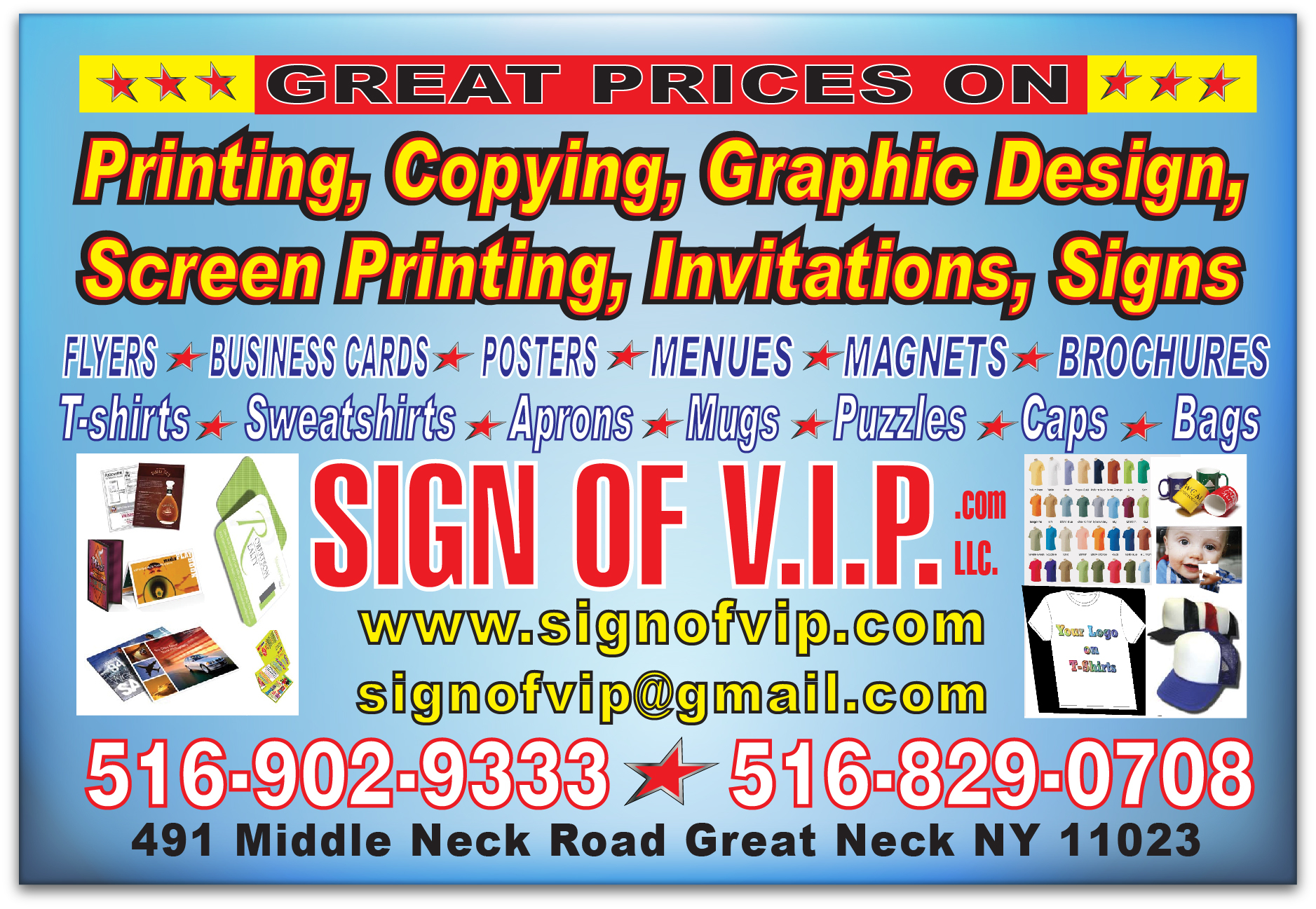 Great Neck Printing Signs Amp Graphic Design Coupons Near