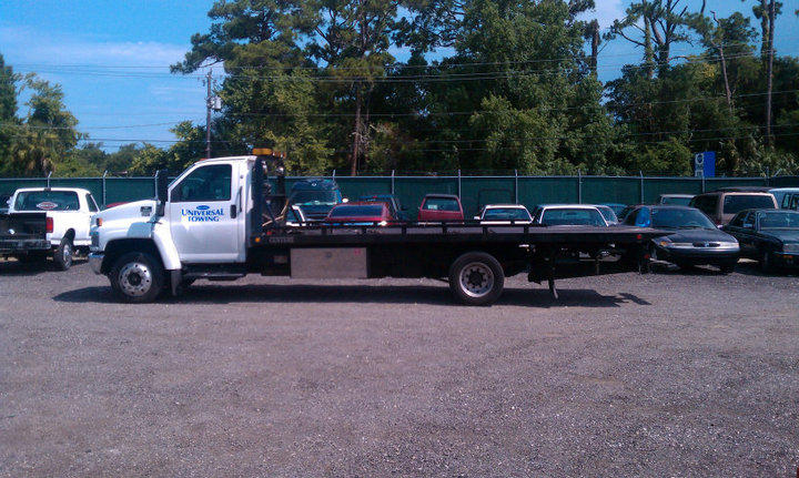 Part of the Universal Towing Fleet. We tow basically anything...just ask! For 24-hr service call 386-255-0203