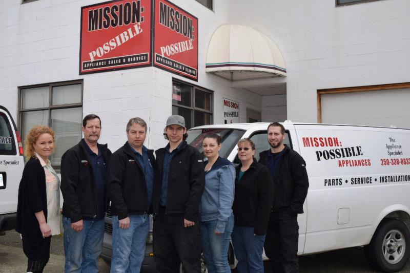 Mission Possible Appliance Sales & Service in Courtenay