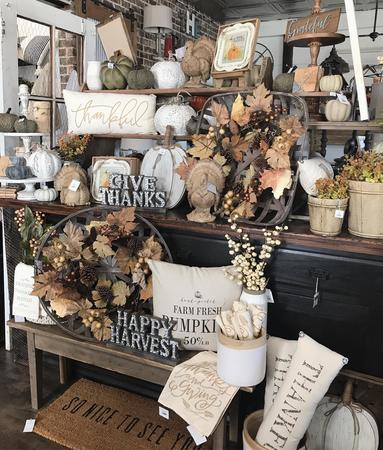Thanksgiving decor is in-stock at The Farmhouse