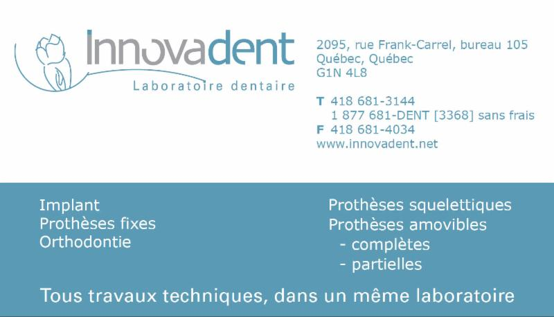 Innovadent Laboratoire Dentaire Inc