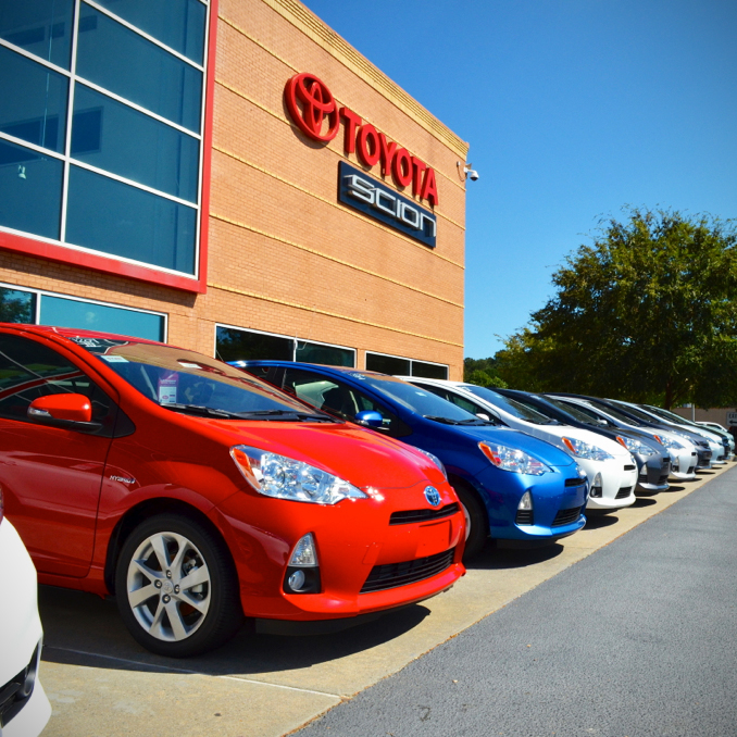 Autonation Toyota Mall Of Georgia At 3505 Buford Drive