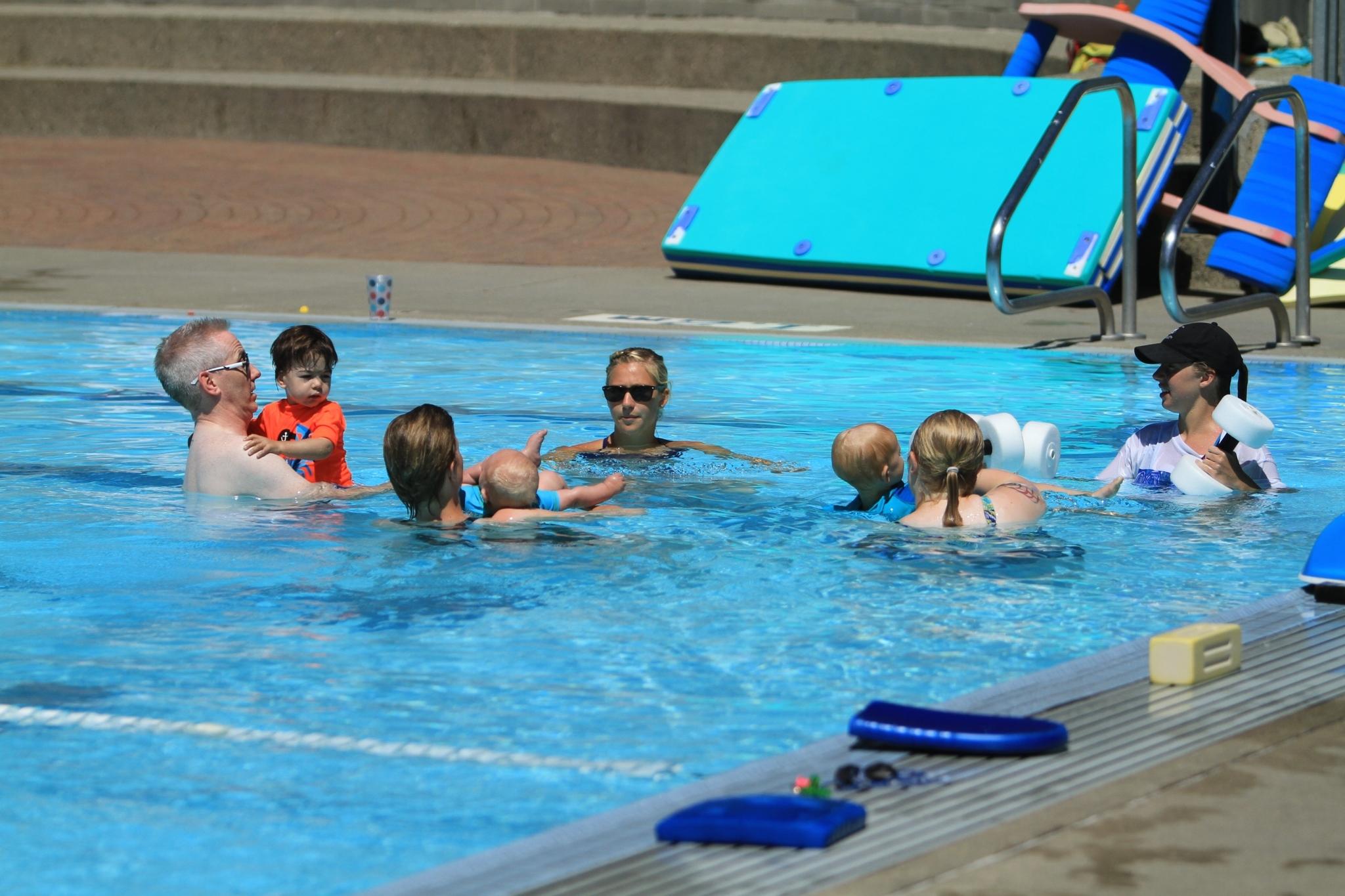 Al Anderson Memorial Pool in Langley