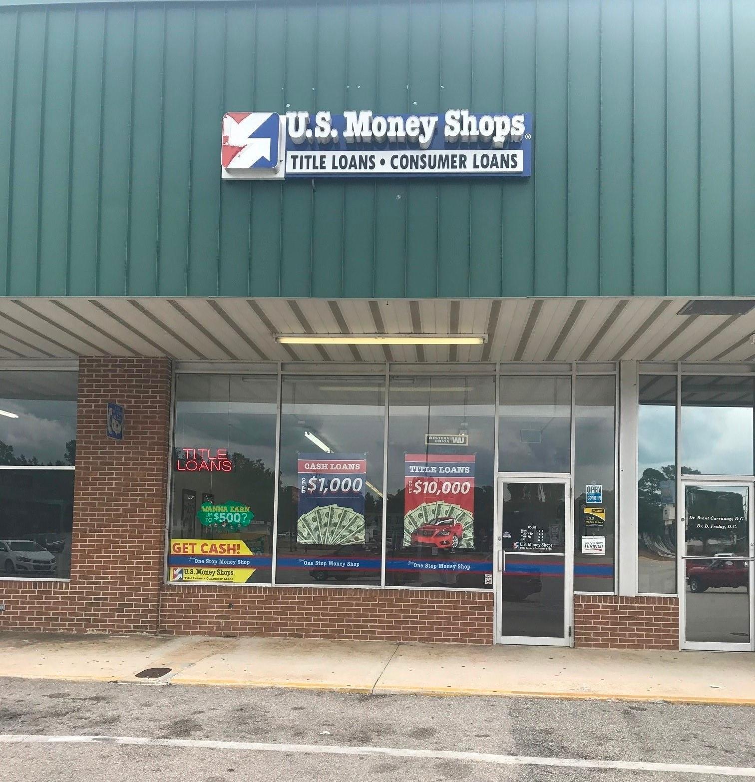 U.S. Money Shops Title Loans - CLOSED image 0