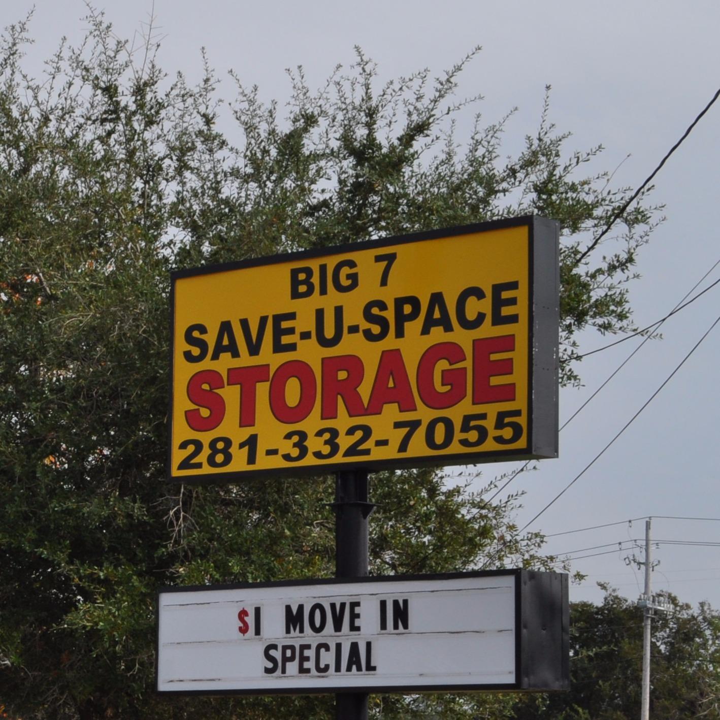 BIG 7 SAVE-U-SPACE