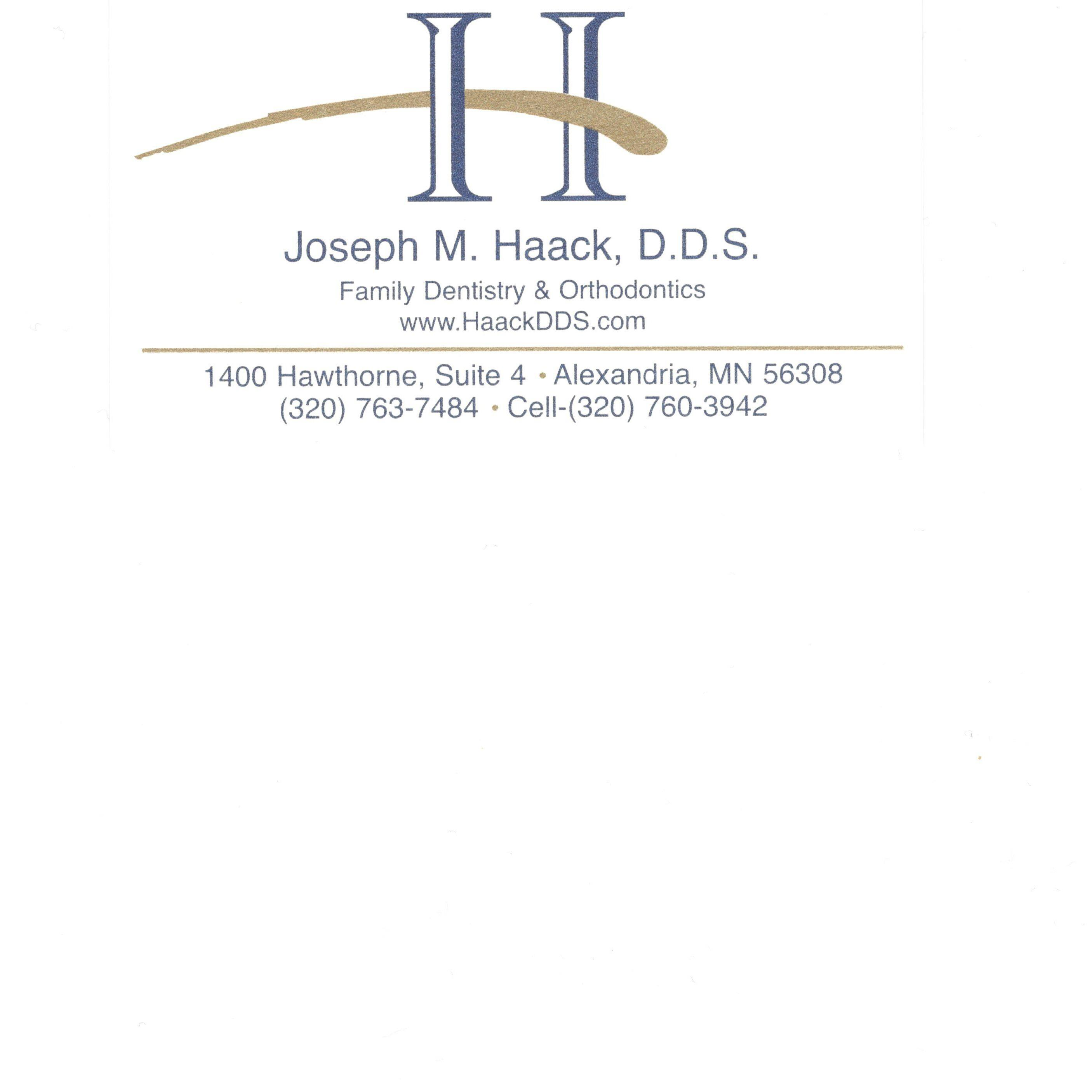 Joseph M. Haack DDS - Family Dentistry and Orthodontics