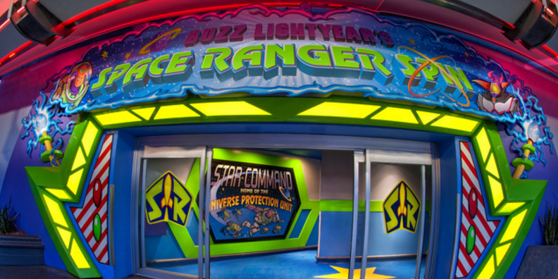 Buzz Lightyear's Space Ranger Spin image 0