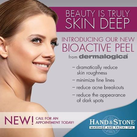 When performed by a certified skin care professional, BioActive Peel Application Method synergistically and safely removes dull outer layers of the skin and helps the skin underneath regenerate for better health and reliance. Bioactive Peel which will dramatically reduce skin roughness, minimize fine lines, reduce acne breakouts and reduce the appearance of dark spots. You will love the results - and come back for more!