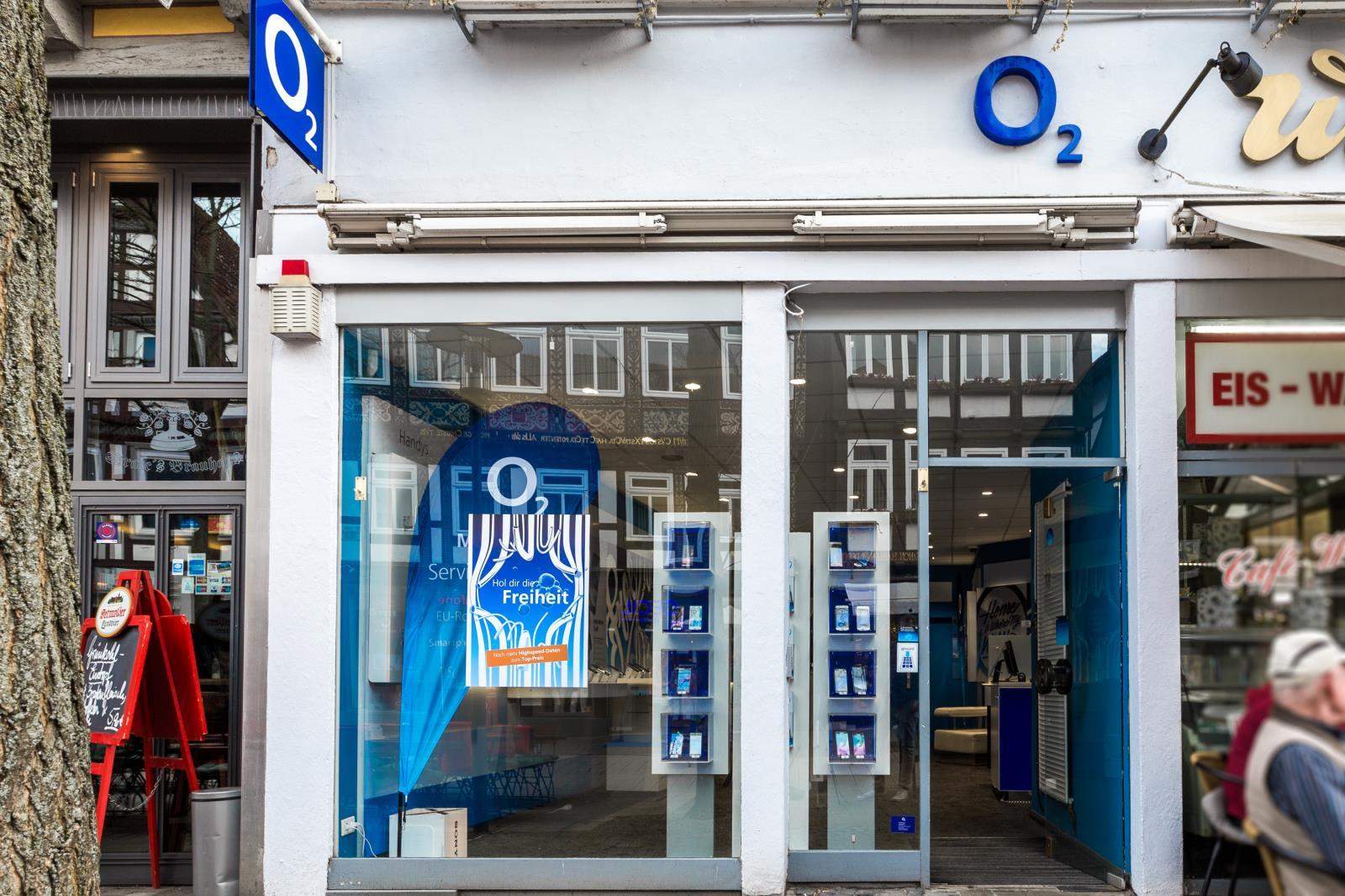 o2 Shop, Lange Str. 33 in Detmold