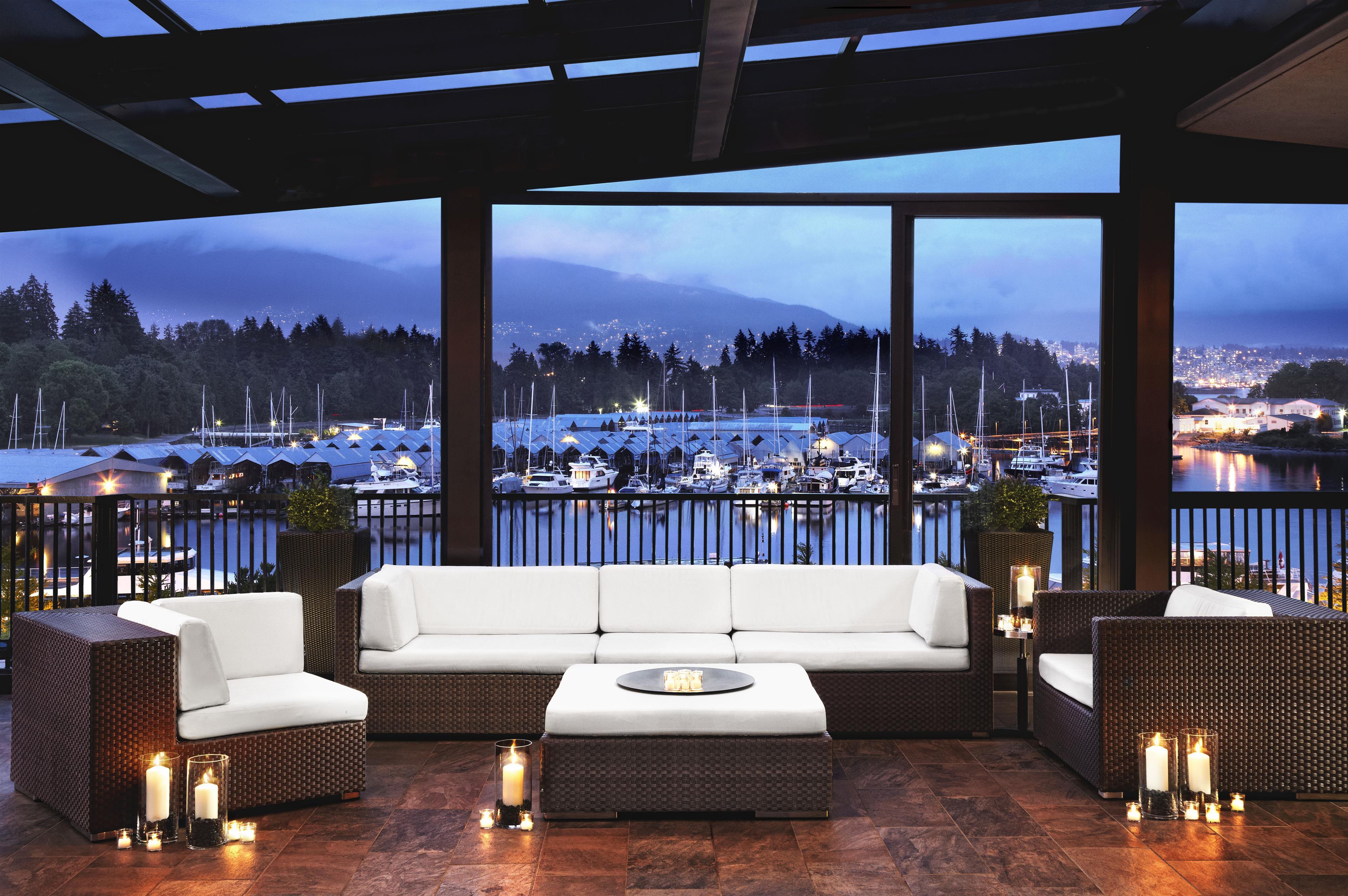 The Westin Bayshore, Vancouver in Vancouver: Patio
