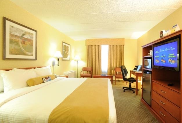 Best Western Seven Oaks Inn in Regina: King Guest Room