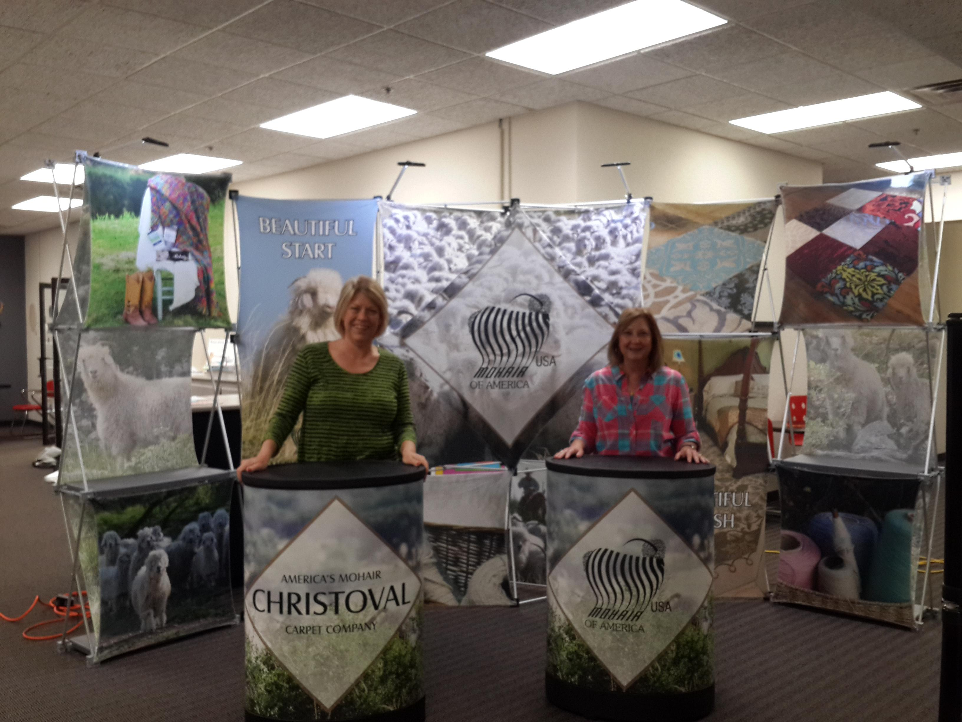 Vendor Booth created for Mohair USA