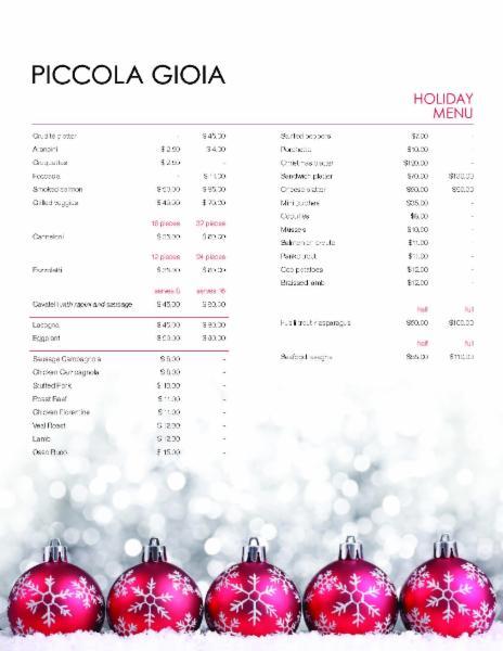 Traiteur Piccola Gioia Catering Inc