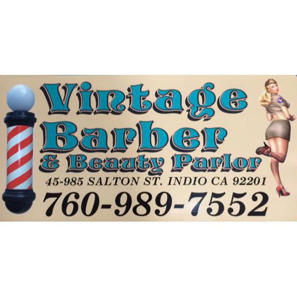 Vintage Barber & Beauty Parlor