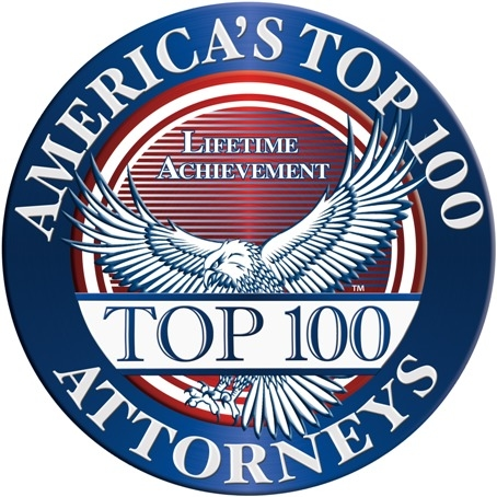 Received America's Top 100 Attorneys Award - Awarded to only 100 attorneys per state, and less than .5% of all active attorneys nation-wide receive this honor.