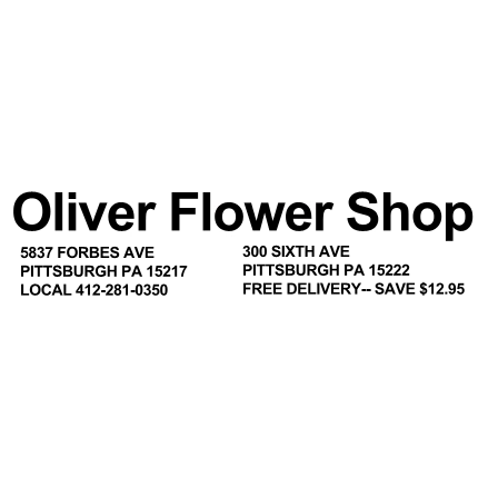 Oliver Flower Shop, Inc. - Pittsburgh, PA - Florists