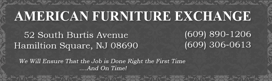 American furniture exchange in trenton nj 609 306 0 for Furniture exchange