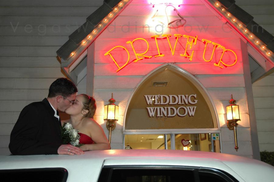 Drive Thru Wedding Las Vegas Images