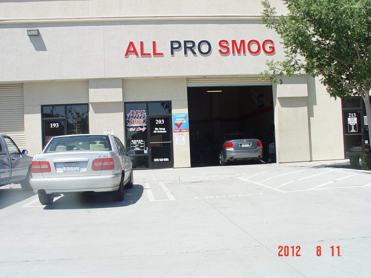 All Pro Smog - Tracy, CA - Company Profile