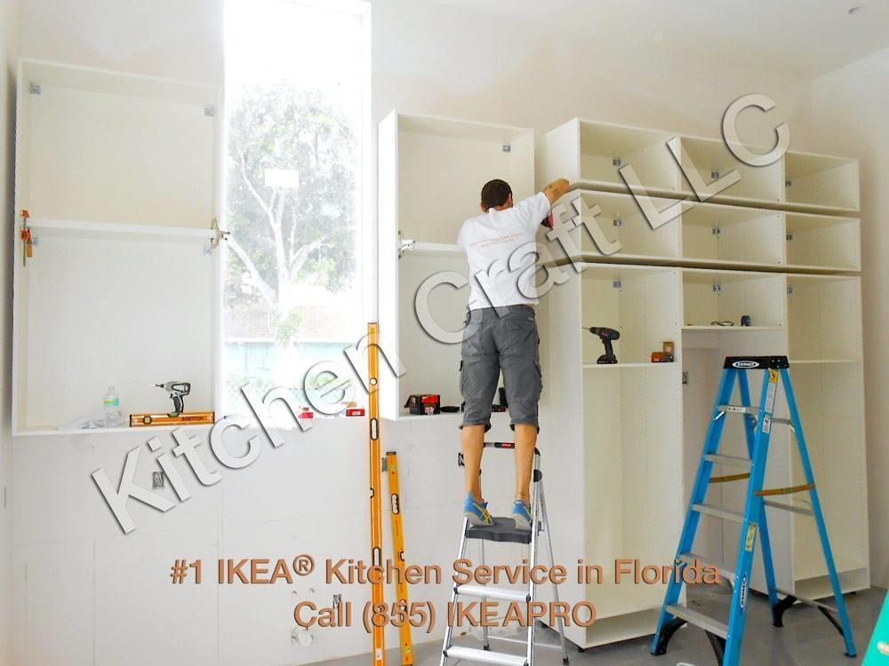 Kitchen Craft LLC - Ikea Kitchen Installation 604 North