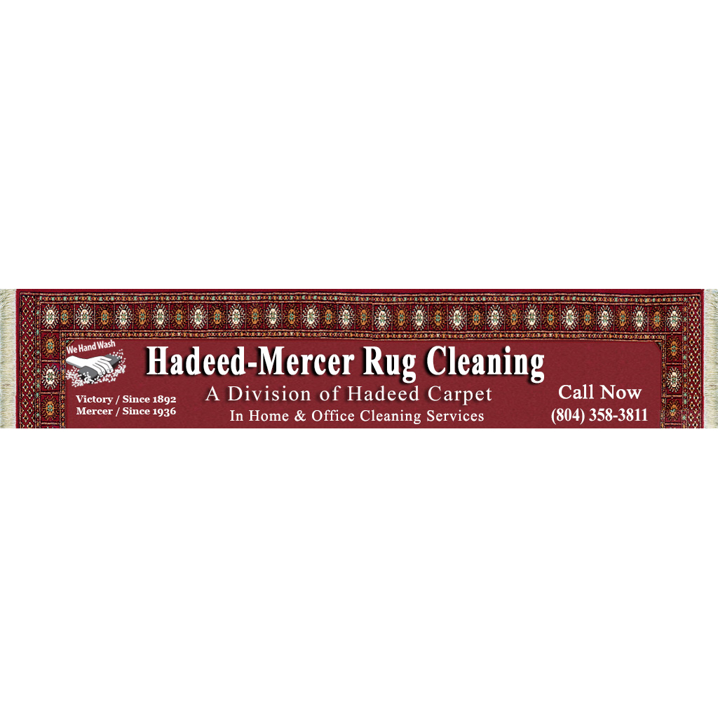 Hadeed-Mercer Rug Cleaning, Inc. 3116 West Moore Street ...