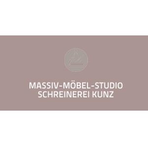 Logo von Schreinerei Kunz GmbH Massiv-Möbel-Studio