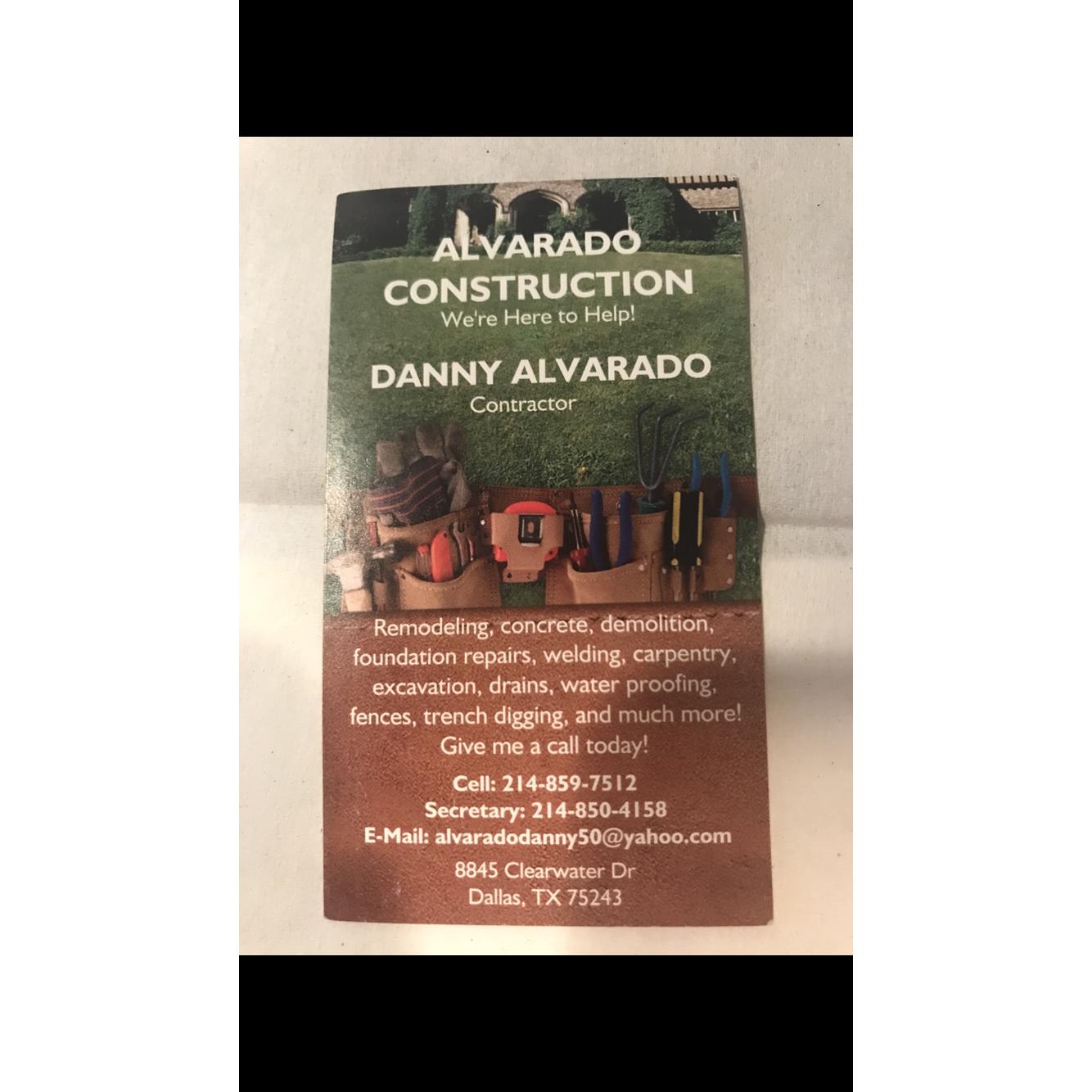 Alvarado Construction