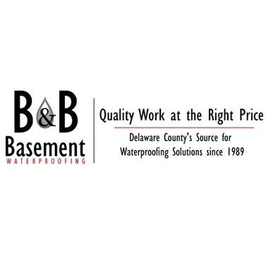 B & B Basement Waterproofing - Upper Chichester, PA - Concrete, Brick & Stone
