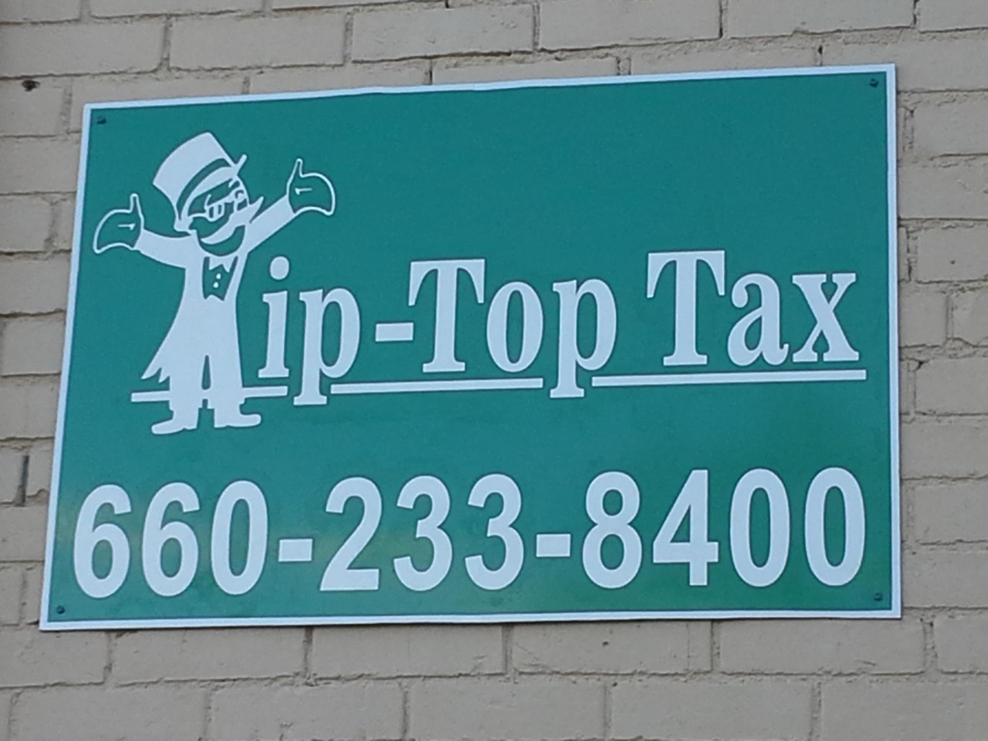 Tip Top Tax - ad image