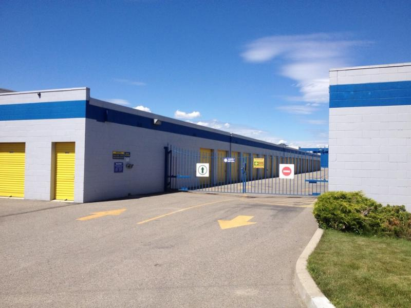 Space Centre Self Storage in Kelowna