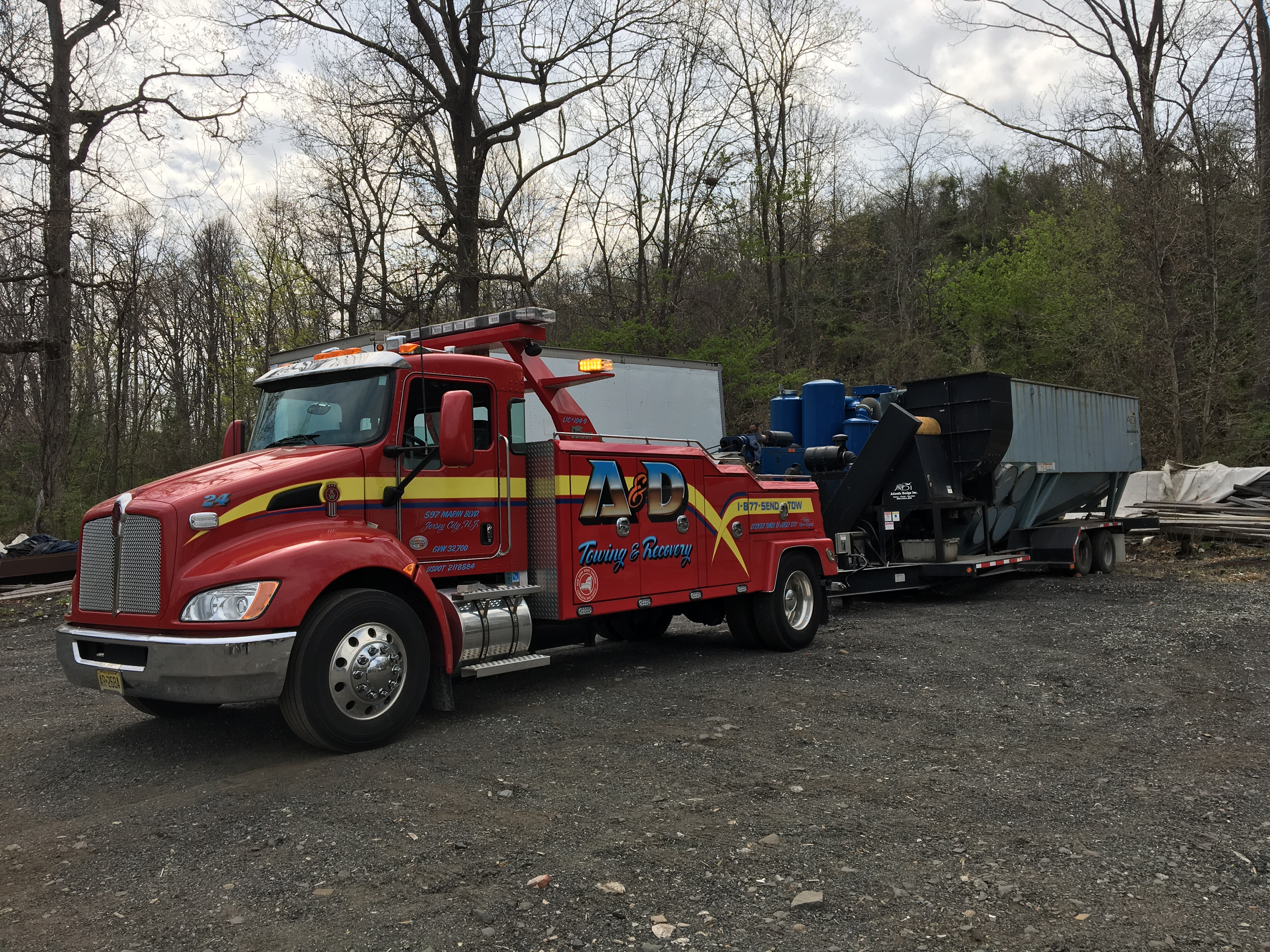 Coverage during an accident with towing insurance