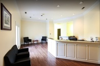 Minick Law Charlotte Office Waiting Room