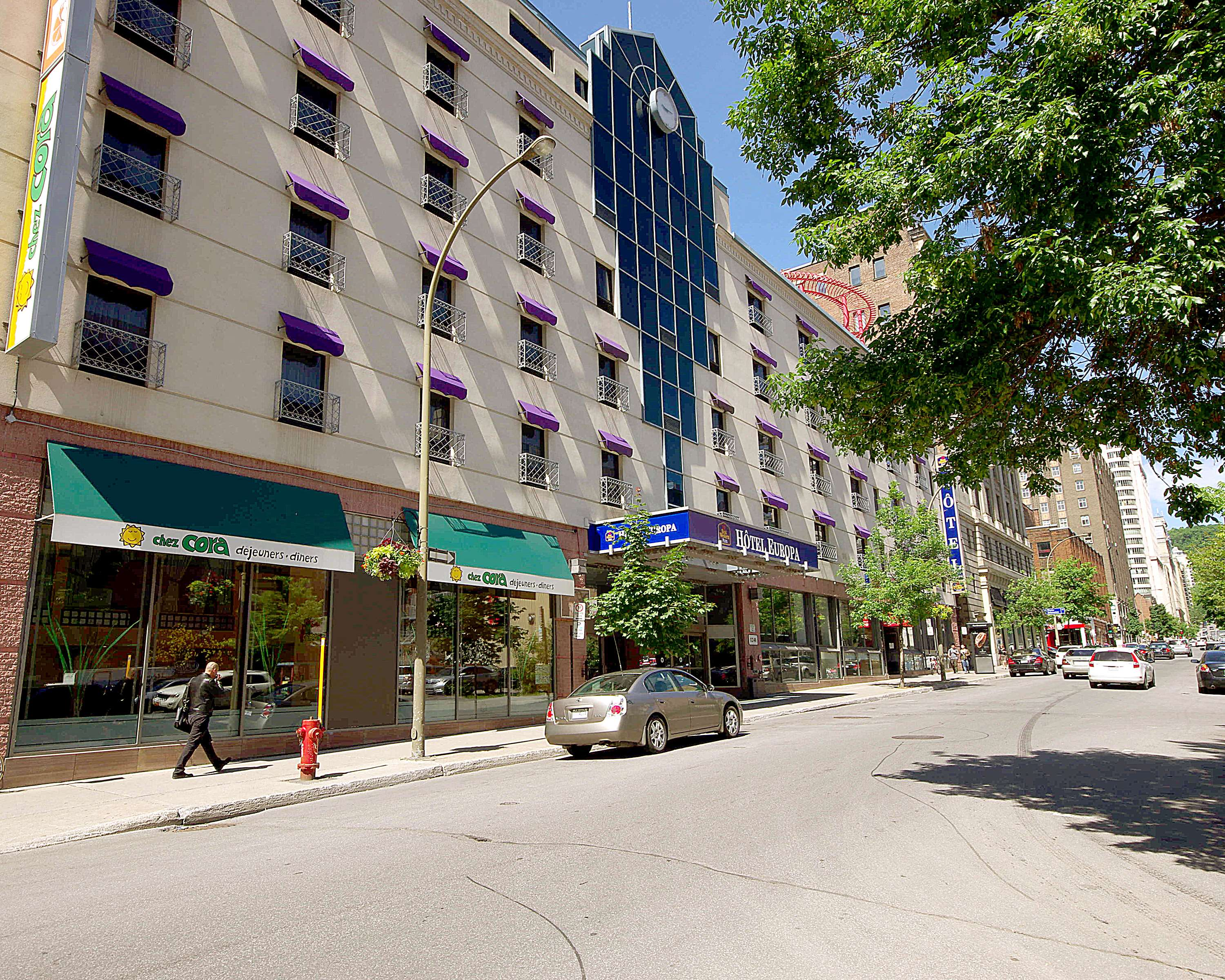 Best Western Plus Montreal Downtown-Hotel Europa à Montreal: Exterior