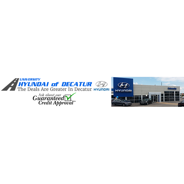 University Hyundai Of Decatur 1211 Beltline Rd SW Decatur, AL Auto