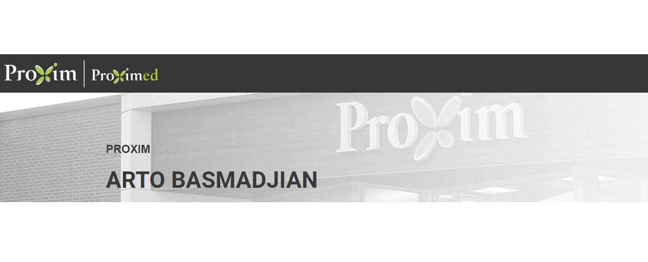 Proxim Affiliated Pharmacy - Arto Basmadjian à Montréal