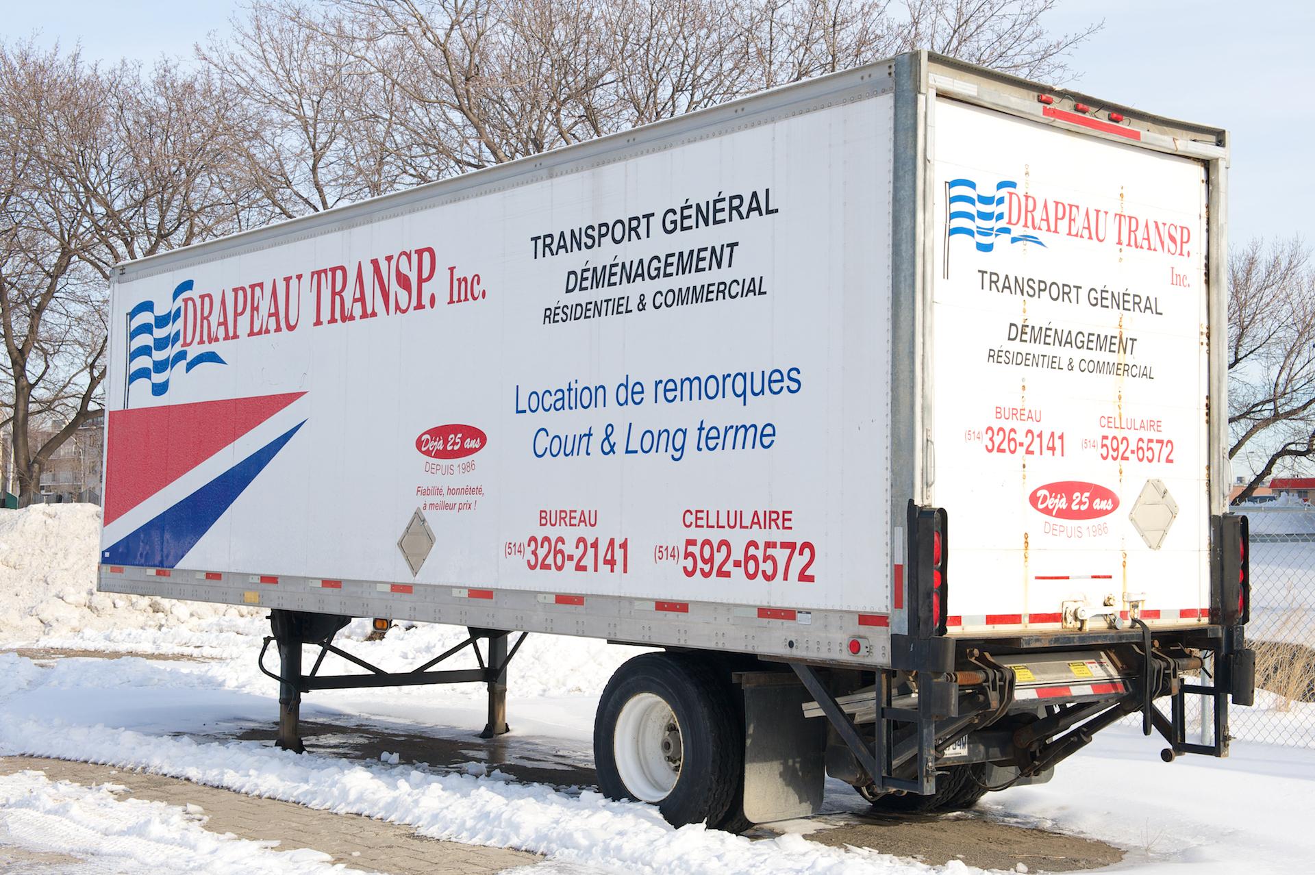 Drapeau Transports à Montréal-Nord