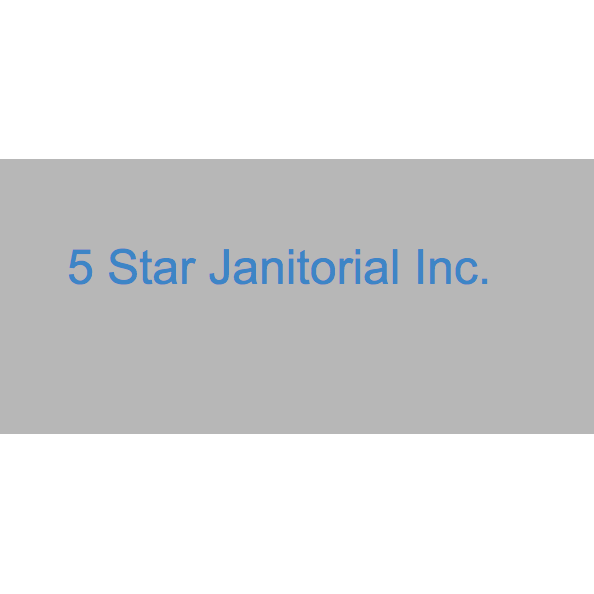 5 Star Janitorial Inc.