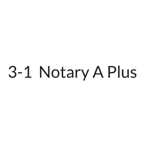 3-1 NOTARY A PLUS