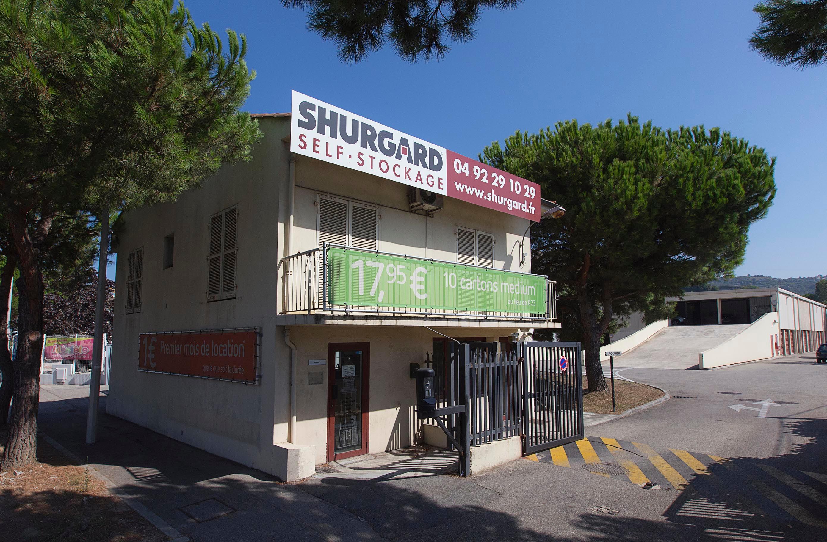 Shurgard Self Storage Nice Saint-Isidore