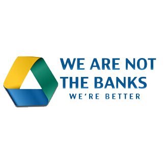 We Are Not The Banks, WE'RE BETTER.