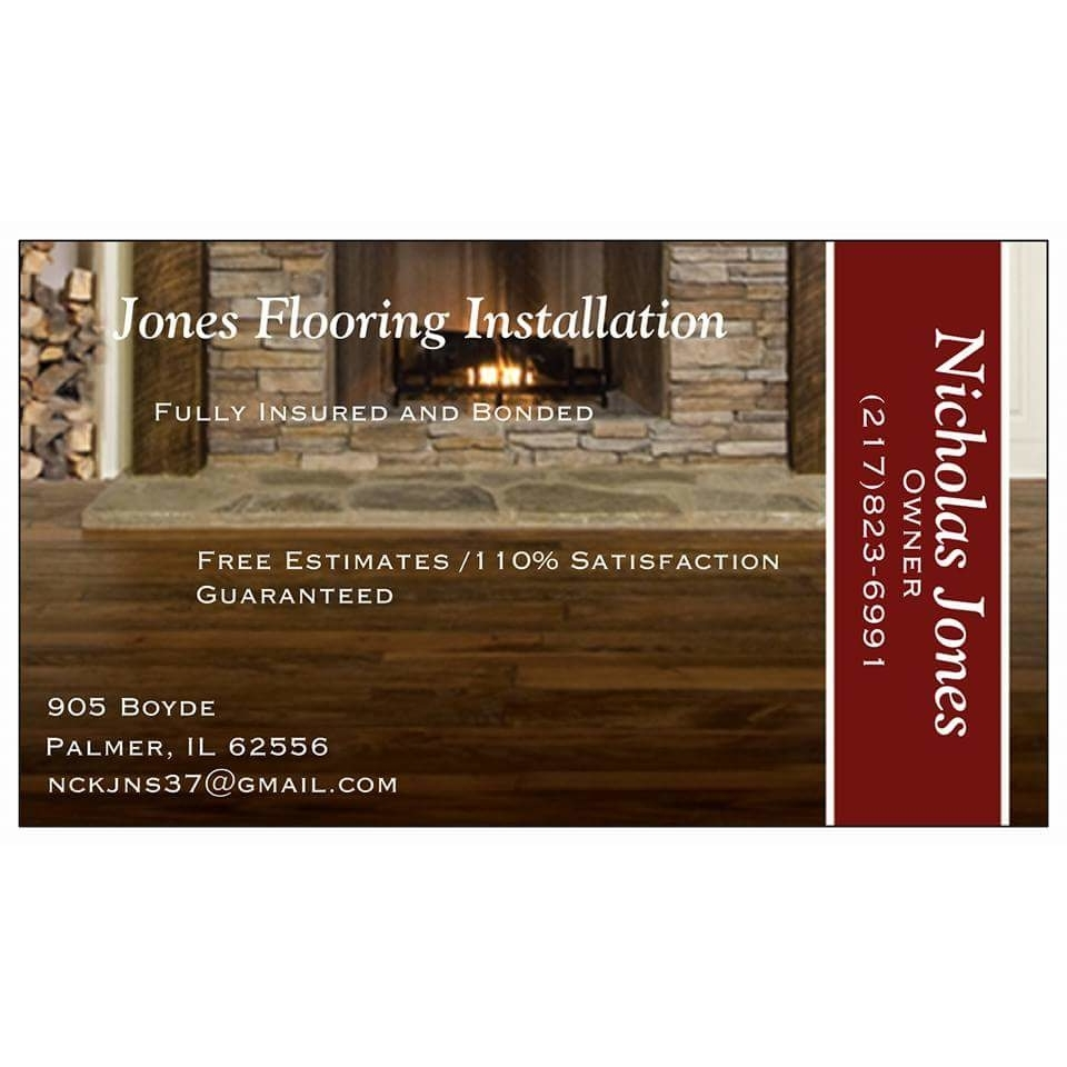 Jones Flooring Installation - Palmer, IL 62556 - (217)823-6991 | ShowMeLocal.com