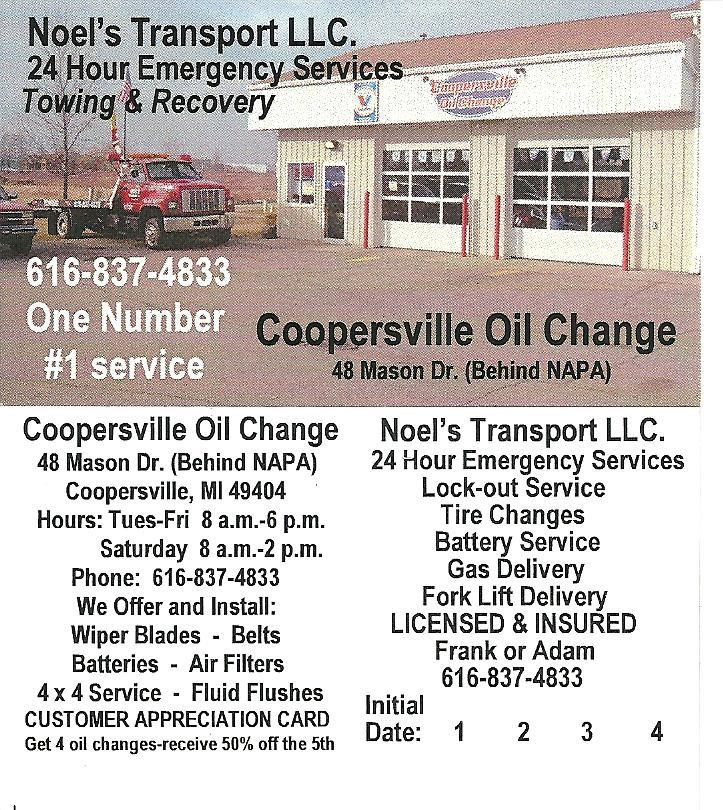 Coopersville Oil Change & Tires image 2