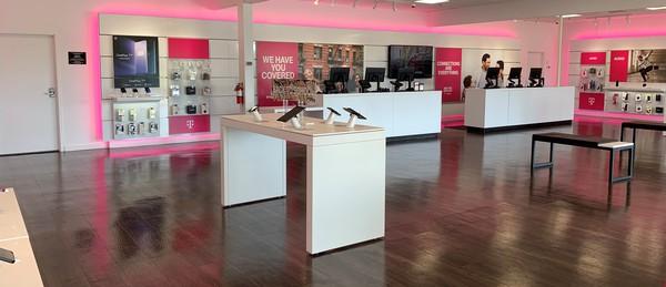 Interior photo of T-Mobile Store at Peachland Blvd & Veterans Blvd 2, Port Charlotte, FL