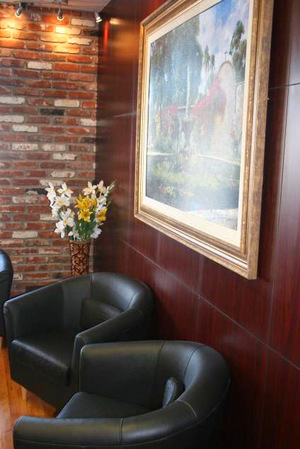 Brighton Dental San Diego waiting room
