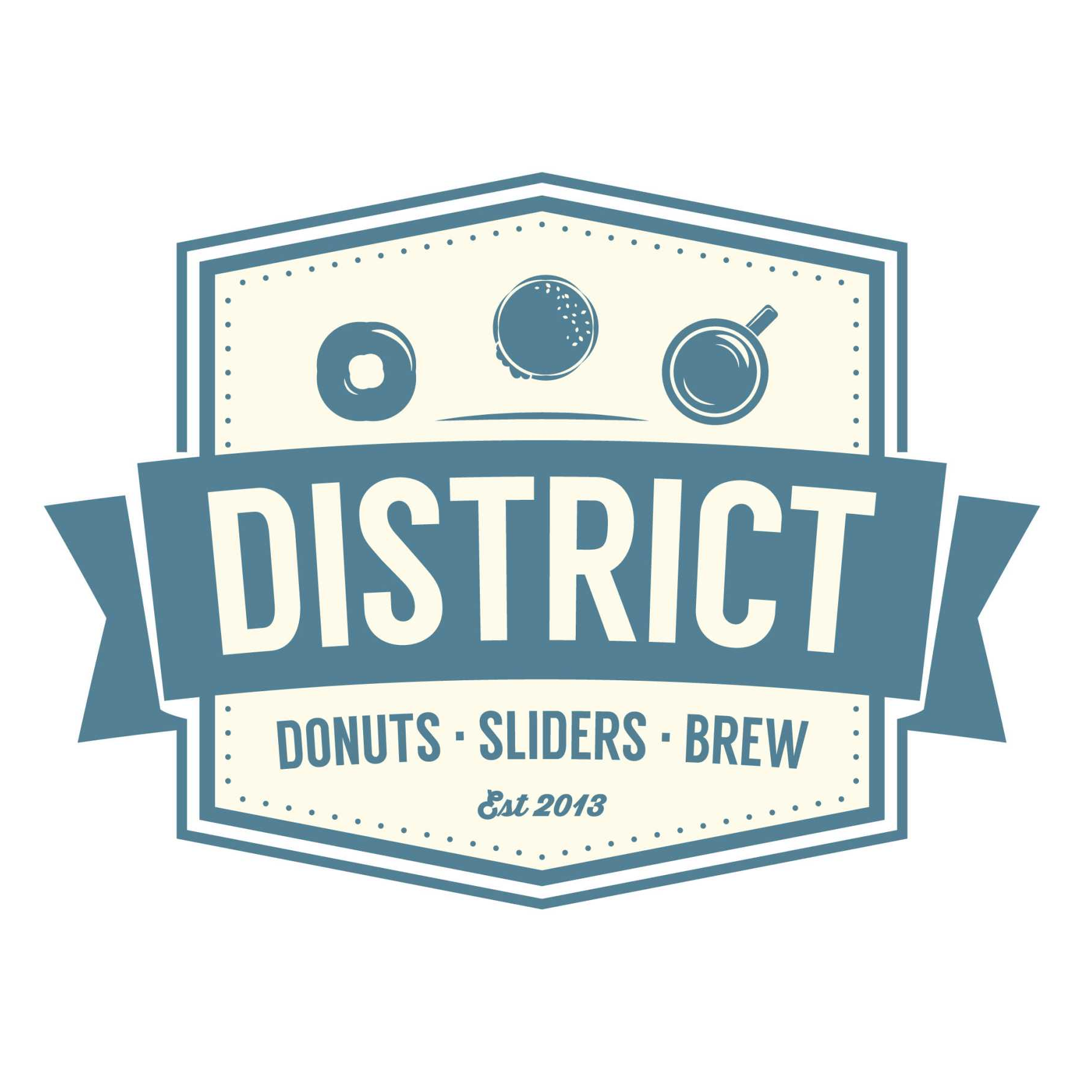 District: Donuts. Sliders. Brew. image 0