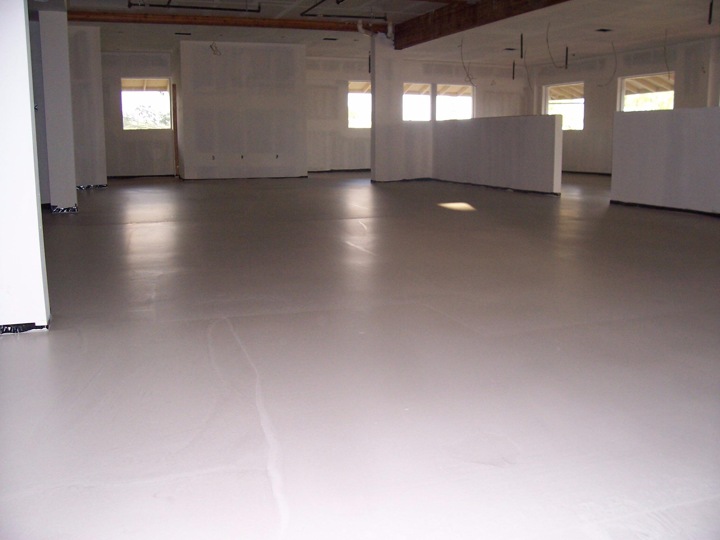 Gypsum Concrete Flooring : Western gypsum floors concrete contractor woods cross