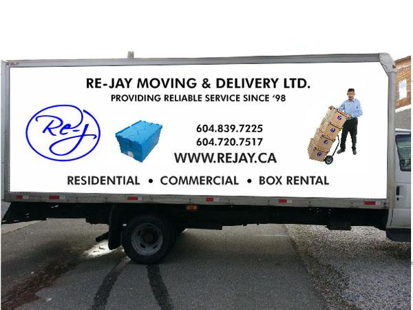 Re-Jay Moving and Delivery