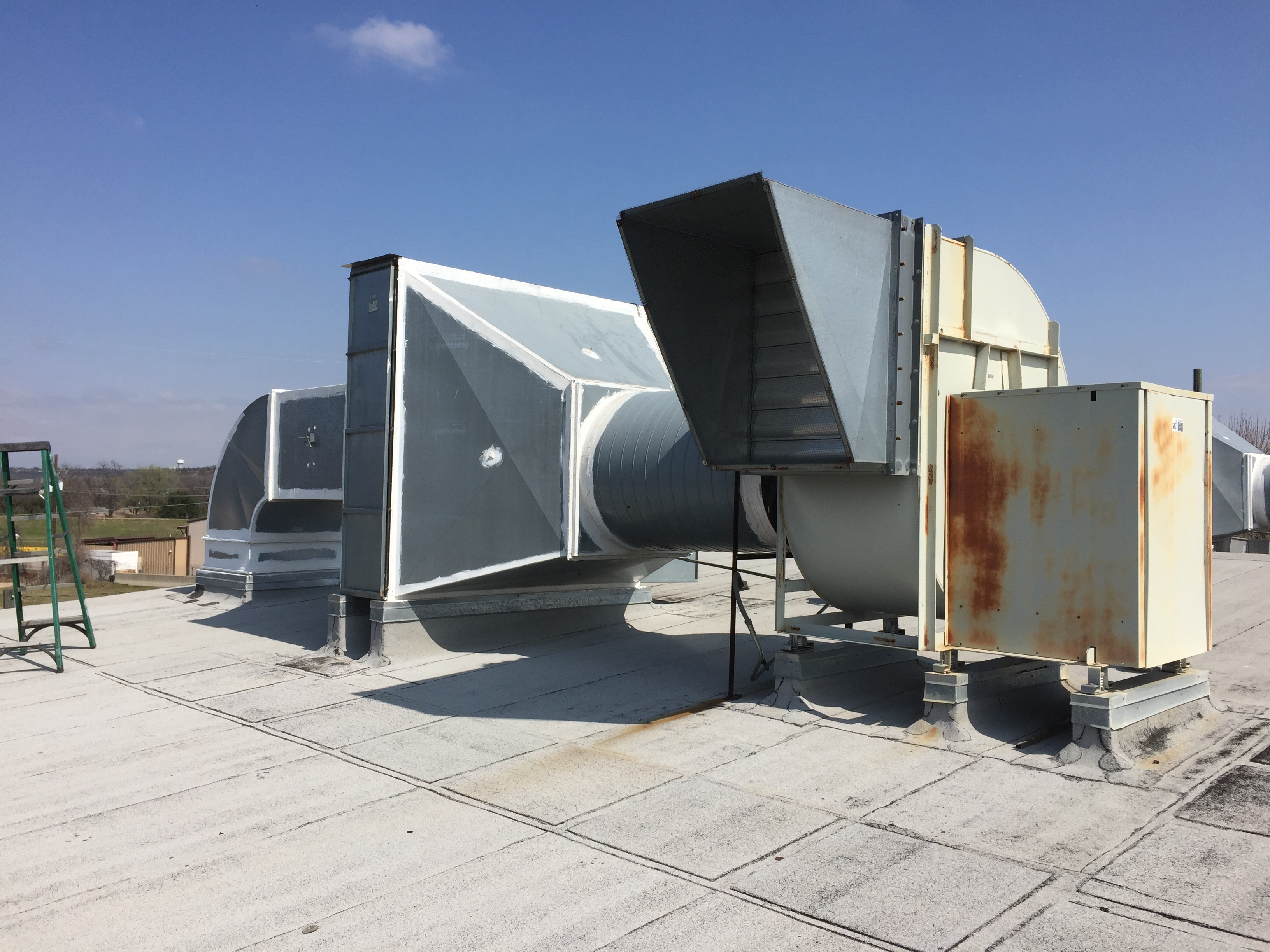 Commercial exhaust system