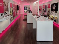 Interior photo of T-Mobile Store at Ann Arbor Rd & Rocker Ave, Plymouth, MI
