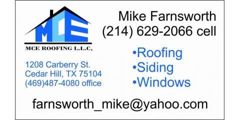 MCE Roofing, LLC